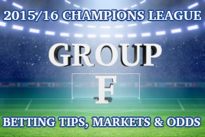 2015/2016 Champions League Group F Betting Tips, Outrights & Odds