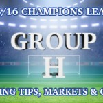 2015/2016 Champions League Group H Betting Tips, Outrights & Odds