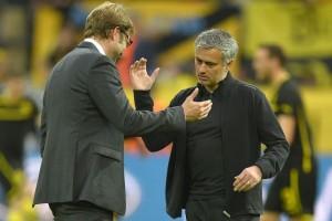 Jurgen Klopp and Jose Mourinho - Image via lavanguardia.com