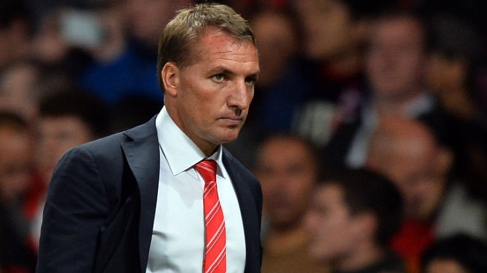 Liverpool F.C. manager Brendan Rodgers has insisted he is not feeling any pressure about his future at the club following the Reds' 1-1 draw with Merseyside rivals Everton on Sunday.