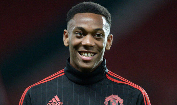 Manchester United forward Anthony Martial helped the Red Devils secure a point at CSKA Moscow in the UEFA Champions League on Wednesday.