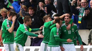 Norwich striker Kyle Lafferty has scored seven goals to help Northern Ireland qualify for Euro 2016
