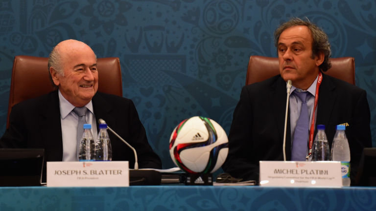 Sepp Blatter and Michel Platini have been suspended for 90 days from any activity in football by FIFA's ethics committee