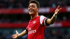 Arsenal's key man was Mesut Ozil last season, who notched 19 assists in the Premier League.