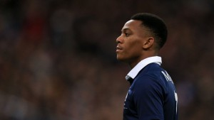 France and Manchester United striker Anthony Martial played just 69 minutes at Euro 2016