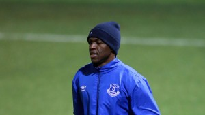 Ivory Coast international Arouna Kone scored a hat-trick in Everton's 6-2 defeat of Sunderland on Sunday