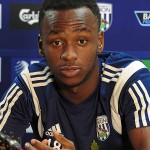 West Brom striker Saido Berahino is reportedly a transfer target for reigning Premier League champions Chelsea