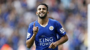 Riyad Mahrez was once again the hero for Leicester City who move five points clear at the top of the table