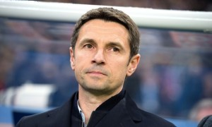 Remi Garde has won his first game in charge of Aston Villa at the eleventh time of asking