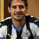 Newcastle's summer signing Aleksandar Mitrovic was influential in the Magpies 2-1 win at Tottenham