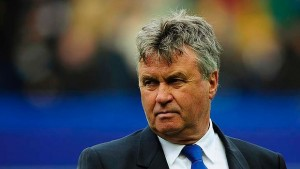 Guus Hiddink takes his search for a first win in his second stint in charge of Chelsea to Old Trafford.