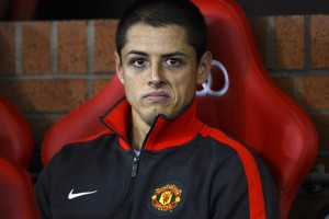 Javier Hernandez became accustomed to a spot on the Manchester United bench, but is thriving at Bayer Leverkusen