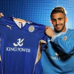 Algerian international winger Riyad Mahrez has been a key player in Leicester's unlikely title charge this season