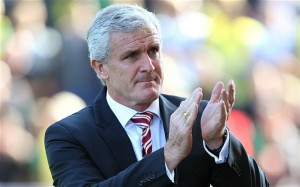 Stoke City manager Mark Hughes has transformed the club's playing style while improving seasonal performances.