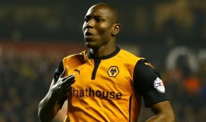 Wolves striker Benik Afobe looks set for a move to Premier League Bournemouth