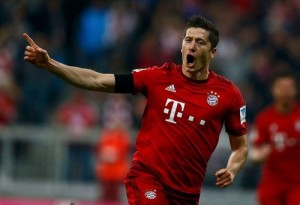 Robert Lewandowski - 17 goals and counting / Image via nytimes.com