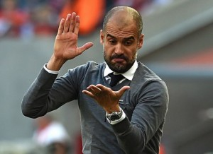 Guardiola is desperately hoping his side can ignore the media storm