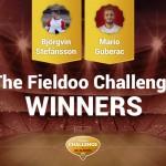 Fieldoo Challenge Winners / Image via Fieldoo.com