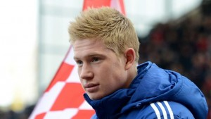 Manchester City star Kevin De Bruyne will be sidelined for the next ten weeks through injury