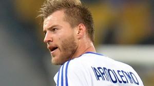 Dynamo Kiev winger Andriy Yarmolenko poses a major threat to Manchester City's defence in the Champions League last-16
