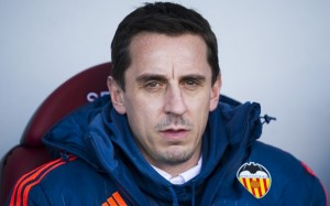 Former-Manchester United defender Gary Neville has endured a difficult first managerial role at Valencia