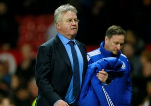Should Hiddink be happy with a draw vs Watford? / Image via euronews.com