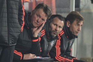 Manchester United boss Louis van Gaal endured another difficult night on Thursday, as United suffered a 2-1 defeat at Midtjylland