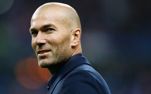 Real Madrid boss Zinedine Zidane.