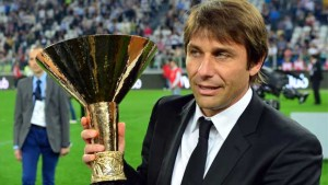 Antonio Conte won three league titles with Juventus between 2011 and 2014