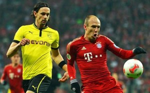Borussia Dortmund could narrow the deficit at the summit to two points with a win over defending champions Bayern Munich.