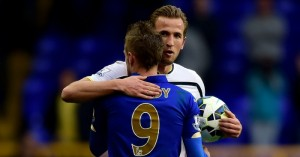 Tottenham's Harry Kane and Leicester's Jamie Vardy will both be hoping to start England's up coming friendly matches