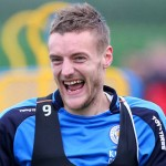 Leicester City striker Jamie Vardy has been in top form this season, but is still struggling to get a start for England