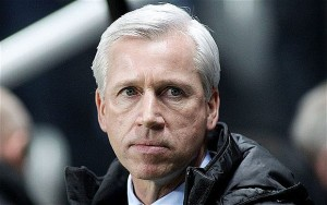 Crystal Palace boss Alan Pardew has seen his team's form dip worryingly in recent months