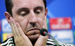 Gary Neville was sacked as Valencia boss just four months after his appointment