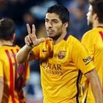 Luis Suarez - 45 goals in 45 games / Image via fcbarcelona.com
