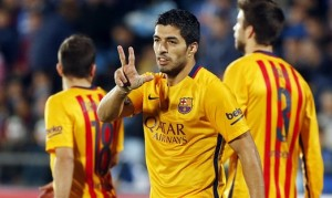Luis Suarez - 45 goals in 45 games / Image via fcbarcelona.com