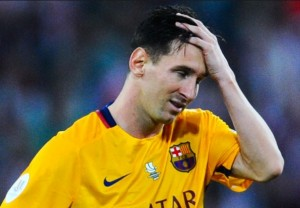 What is going on with Messi? / Image via edition.cnn.com