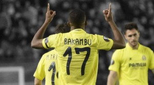Villarreal striker Cedric Bakambu will offer a major threat to the Liverpool defence in the Europa League