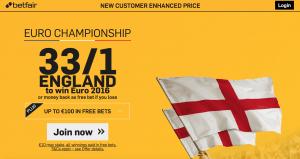 England Euro promi