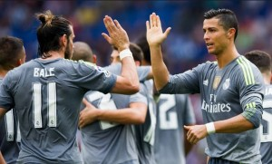 Gareth Bale sets scene for all Madrid final / Image via skysports.com