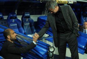 Pep Gaurdiola and Jose Mourinho will renew their managerial rivalry next season in the Premier League