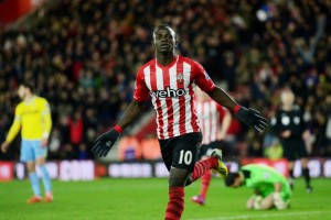 Southampton forward Sadio Mane has hit double figures for Premier League for the second consecutive season.