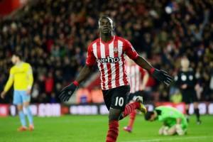 Southampton forward Sadio Mane has hit double figures for Premier League for the second consecutive season.