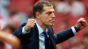 West Ham manager Slaven Bilic has admitted frustration with a lack of movement in the transfer market this summer.