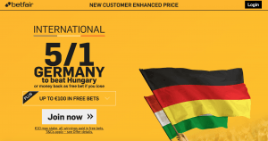 Germany v Hungary promo