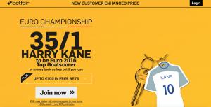 Kane Euro promo