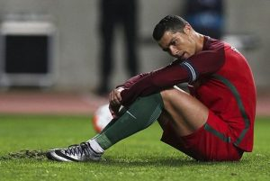 Is Ronaldo entirely to blame for Portugal's poor performances? / Image via dailymail.co.uk