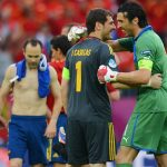 Spain and Italy will clash in the last-16 of Euro 2006, having met at Euro 2012 twice, including in the final