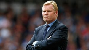 Dutch boss Ronald Koeman has joined Everton on a three-year deal
