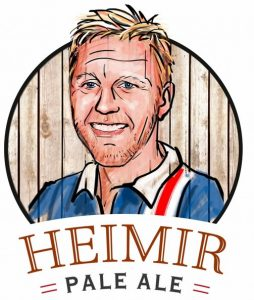 Heimir got his own beer now